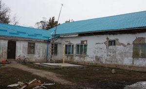 Die Gebäude sind teils in einem sehr schlechten Zustand.