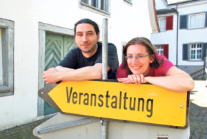 Eveline Ketterer und Dietmar Paul vom Kulturverein «klima» freuen sich auf das vielfältige Programm ihres Filmfestivals «Blickfang». (Bild: sb)