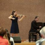 Cécile Vonderwahl an der Violine.