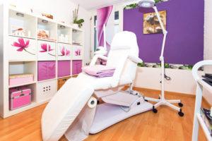 Das Kosmetikstudio bietet ein Ambiente zum Fallenlassen.(Bild: zvg<9