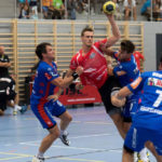 Pascal Vernier am Ball. (Bild: zvg)