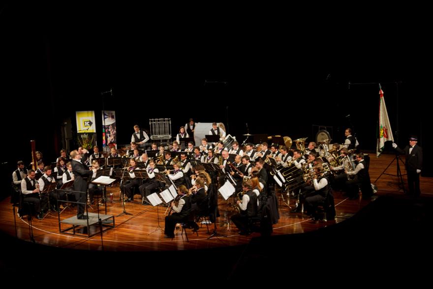 Das Symphonische Blasorchester Kreuzlingen. (Bild: zvg)