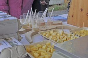Käse, Fleisch und vieles mehr von der Demeter Hofkäserei aus Schaffhausen. (Bild: zvg)