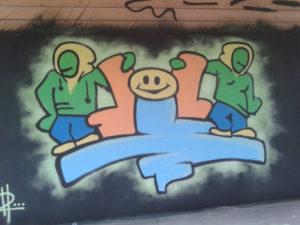 Bei einem Graffiti-Workshop können Besucher Ihr Können unter Beweis stellen. (Bild: www.oja-kreuzlingen.ch)