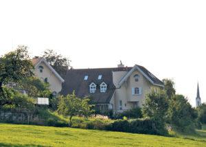 14 Jahre lang wohnte der Radrennfahrer in Scherzingen. (Bild: Veronika Fischer)