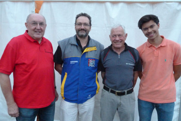 (v.l.) Erwin Hilber, Hanspeter Davatz, Hans Wüthrich, Christopher Zeller (Claudio Fontanive fehlt auf dem Foto). (Bild: zvg)