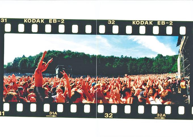 Historisches Bild: Das Bodenseestadion fasst 25000 Menschen. (Bild: zvg)