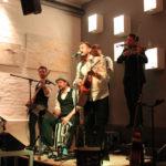 «Saint City Orchestra» begeisterten am Freitagabend, 19. August, die Zuschauer im «Out of Bounds» Café. (Bild: Jasmin Lubinsky)