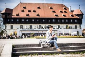 In Konstanz kann man nun nach Herzenslust surfen. (Bild: zvg)