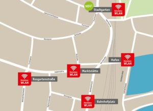 In Konstanz bieten die Stadtwerke nun auch kostenloses WLAN im Stadtgarten an. (Bild: zvg)