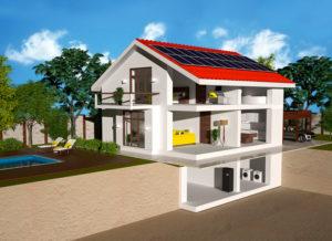 Solarenergie auf dem Dach des eigenen Hauses. (Bild: zvg)