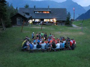 Die Jubla verbrachte das Sommerlager Vierwaldstättersee. (Bild: zvg)