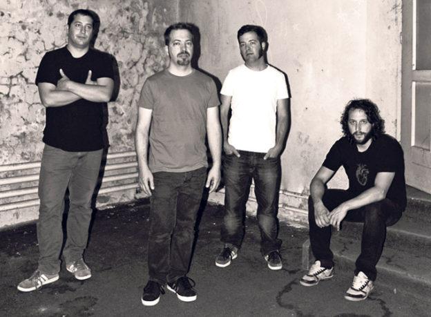 "Die Band ""Pariah"". (Bild: zvg)"