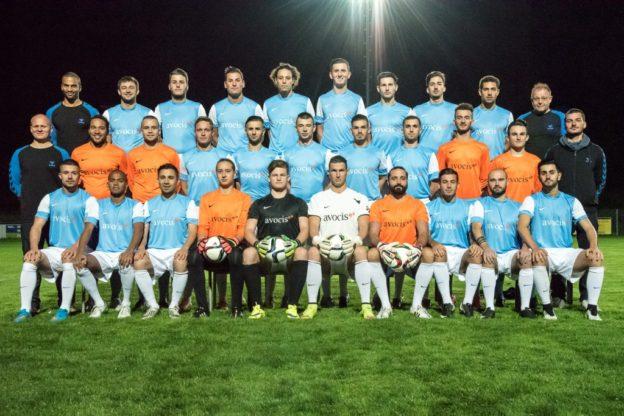 Die erste Mannschaft des AS Calcio. (Bild: www.as-calcio.ch)