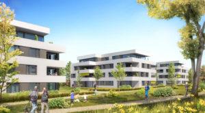 Bauherrschaft sind die Chocolat Bernrain sowie die ASGA Pensionskasse Genossenschaft aus St. Gallen. (Bild: zvg)