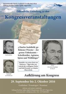 Flyer zum Kongress. (Bild: zvg)