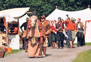 Der Mittelaltermarkt in Wigoltingen. (Bild: zvg)