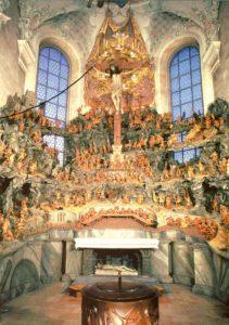 Unter der Stadtführungsreihe «Kreuzlingen entdecken» geht es heute in die Ölbergkapelle. (Bild: zvg)
