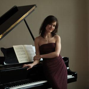 Pianistin Polina Krymskaya. (Bild: zvg)