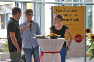 Der Startschuss für die vierte Runde des Schreibwettbewerbs «Junge Texte» ist gefallen. (Bild: zvg)