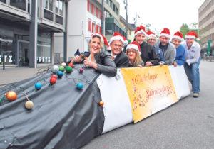 Das OK um Chefin Silvia Cornel (1.v.l.) ist voll motiviert, auch dieses Jahr wieder einen fantastischen Weihnachtsmarkt auf die Beine zu stellen. (Bild: sb)