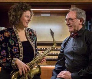 Claudia Tesorino – Saxophon und Armin Thalheim - Orgel. (Bild:zvg)