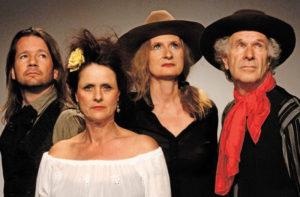 Das Theater an der Grenze führt das Publikum am 24. September mt Sabina Deutsch in den Wilden Westen. (Bild: zvg)