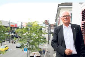 Stadtpräsident Andreas Netzle präsentierte das Budget 2017. (Bild: archiv)