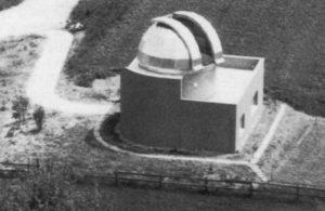 Die Sternwarte im Bau, 1976. (Bild: zvg)