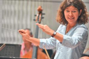 Kompetente Dirigentin: Annedore Neufeld.(Bild: zvg)