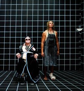 Hamm und Clove warten auf das Ende. (Bild:  Bjørn Jansen/Theater)