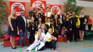 Die erfolgreichen Sportler aus Kreuzlingen. (Bild: zvg)