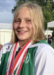 Muriel Dörsing, SIegerin K1 2000m. (Bild: zvg)