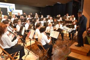 Die Musikgesellschaft Scherzingen freut sich, möglichst viele Personen begrüssen zu dürfen und wird den Besuchern ein tolles Konzert mit Unterhaltung bieten. (Bild: zvg)