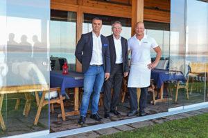(V.l.): Direktor Antonio Oliveira, Richard Weber (Konzept), Küchenchef David Fritschy. (Bild: zvg)
