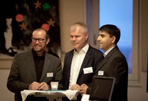 Die Referenten (v.l.): Thomas Weihrich, Friedrich Kisters, Vittorio Palmisani (Foto: Roman Kopp)