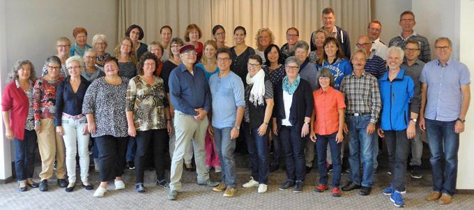 """Die Gospel Joy Singers laden ein zu """"Heaven and Earth"""". (Bild: zvg)"""