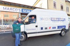 Lieferung und Montage gehören bei Marco's Schlafoase zum Service. (Bild: zvg)
