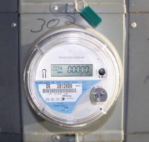 Ein Smart Meter – zu deutsch: intelligenter Zähler – kann das Ablesen von Strom, aber auch Wasser und Gas, erleichtern.  (Bild: wikipedia)
