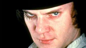 Malcolm McDowell spielt Alexander DeLarge im Kultfilm aus dem Jahre 1971. (Bild: zvg)