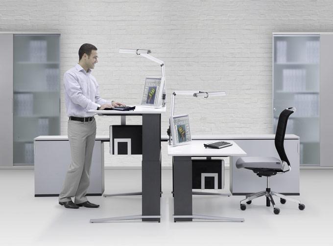 Mit Büromöbeln von JOMA lässt sich's gesund arbeiten. (Bild: zvg)