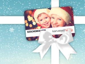 Individuelle Geschenkkarten zum sofort Mitnehmen im Einkaufszentrum Karussell. (Bild: zvg)
