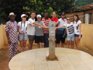 Vereinsmitglieder im Togo. (Bild: zvg)