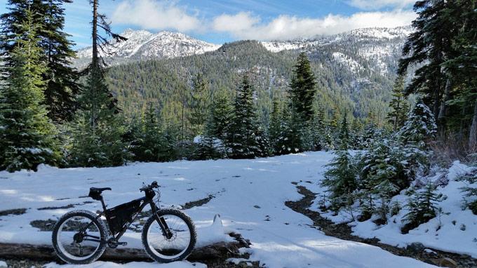 Mountainbiken macht auch im Winter Spass. (Bild: zvg)