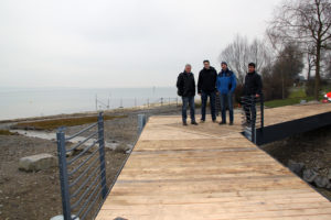 Eröffnung Aussichtssteg Chogenbach