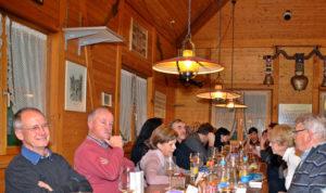 Die Bottighofer Sportfischer feierten den Chlausabend. (Bild: zvg)