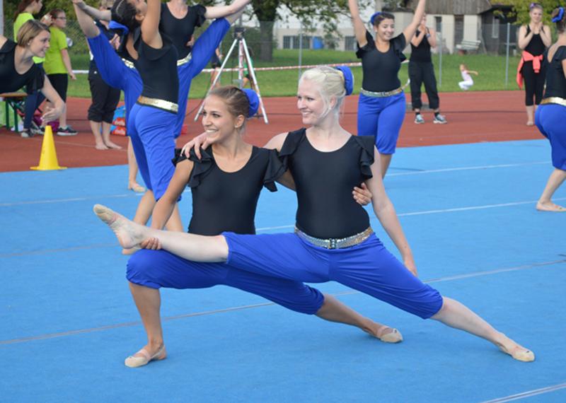 Gymnastik-Gruppe erfolgreich am Rothrister Cup