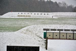 Fohrenhölzli, Winter, Schiessen